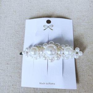 Korean made pearl hair brooch/ pin/ clip